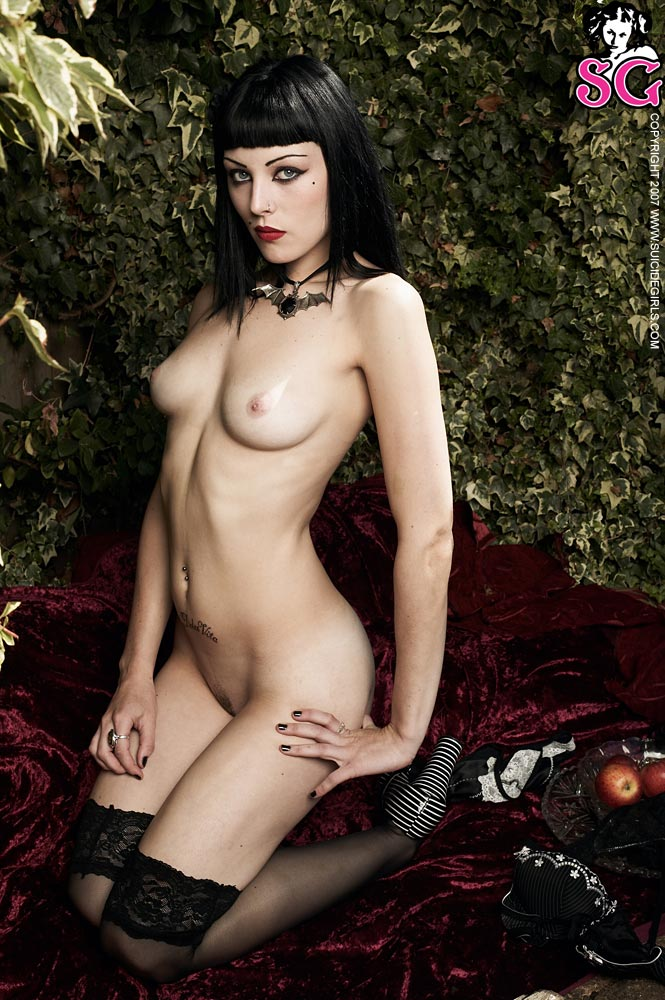 Naked gothic girls sex